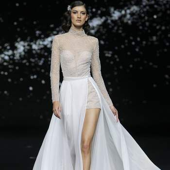 Pronovias. Barcelona Bridal Fashion week.