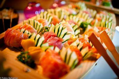Buffet japonês em casamentos: uma delícia que já virou tradição!