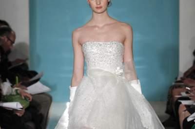 Moda en vestidos de novia cortos para el 2013