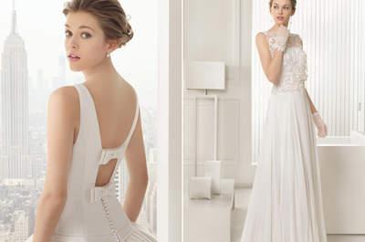 Vente exceptionnelle de robes de mariée Rosa Clará au Printemps Haussmann