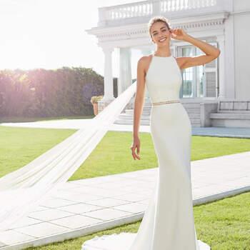 Créditos: Rosa Clará 2020 | Modelo do vestido: Casilda