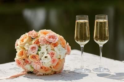 Bebidas para tu boda: Qué servir en cada momento