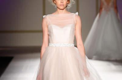 Robes de mariée avec décolleté illusion : les plus jolis modèles