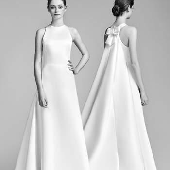 Vestidos de novia línea A: 40 diseños para lucir una figura estilizada y entallada