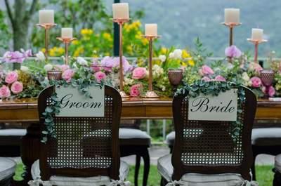 Casamentos com decoração romântica contemporânea: aposte nessa tendência!