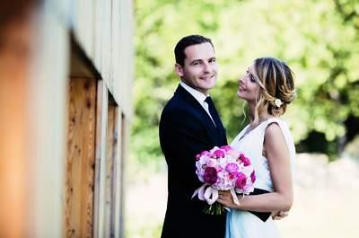 Le mariage glamour de Kevin et Gabrielle, deux amoureux destinés à se rencontrer