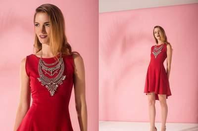 Vestidos de fiesta rojos cortos 2017. ¡Encuentra los diseños más modernos!