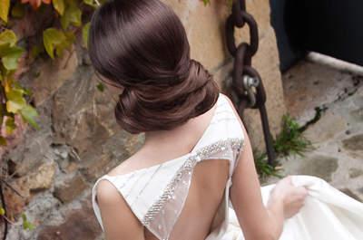 60 penteados de noiva que estão a arrasar em 2017: não os perca de vista!