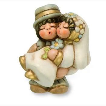 Sposini abbracciati mini