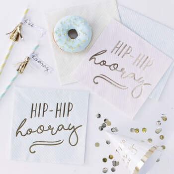 Servilletas Hooray 16 unidades- Compra en The Wedding Shop