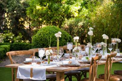 Tableware: ideas and inspiration for your wedding table with Options