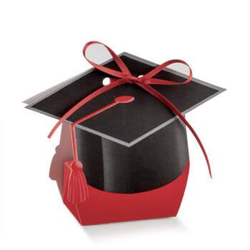Caja birrete graduación 10 unidades- Compra en The Wedding Shop