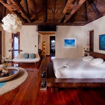 Se Laucala Island não for o paraíso, nada mais pode ser. O preço? Cerca de 3700 euros por noite. Foto: Laucala Island Resort