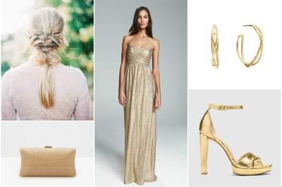 Look de la semana: novia glitter