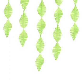 Decoración Espiral De Papel Verde- Compra en The Wedding Shop