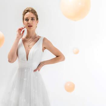 Photo : Eglantine Mariages & Cérémonies, robe Katell