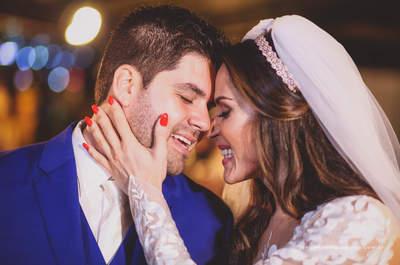 Casamento rústico chic de Nadja e Danilo: em clima de fazenda com noivos deslumbrantes!