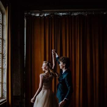 Styled Wedding Shoot: Laura's en Gideon's Industrial I do | Foto: Britt Laske Fotografie