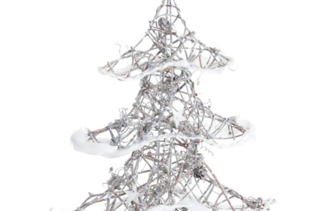 Detalles en papel para la decoraci n de tu boda porque menos es m s - Arbol navidad ratan ...