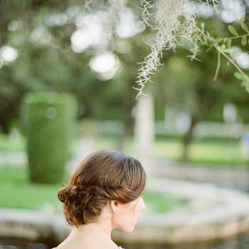 Cabelo de noiva preso | Credits: Alisa Ferris Photography