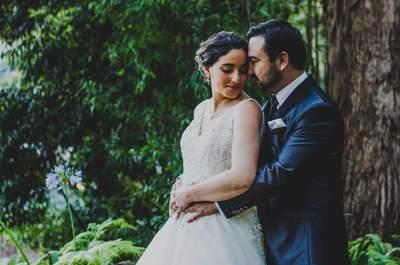 Melissa y Enrique: dos personas a las que un cumpleaños unió para siempre