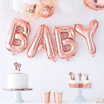 Guirnalda de globos de bebé- Compra en The Wedding Shop