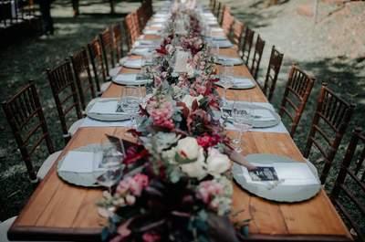 Decoração das mesas do casamento: ideias lindas e ecléticas!