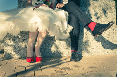 Laura & Giampi, un irresistibile matrimonio ispirato al Vintage Circus degli anni Cinquanta