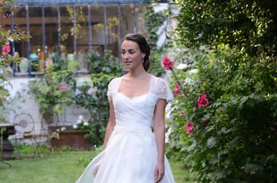 Collection Catherine Varnier 2016 : pour une mariée bohème chic très sensuelle