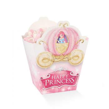 Caja dulce pequeña happy princess 10 unidades- Compra en The Wedding Shop