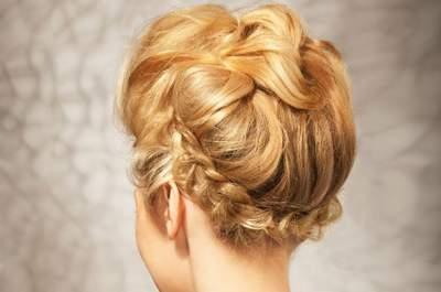 Peinados de novia Cebado 2013