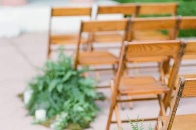 Come decorare il tuo matrimonio con le candele? Ecco 25 idee originali