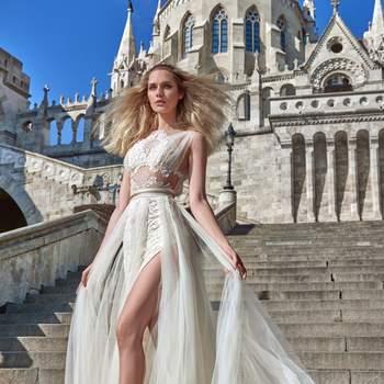 Foto: Modelo Flavia de Galia Lahav Haute Couture