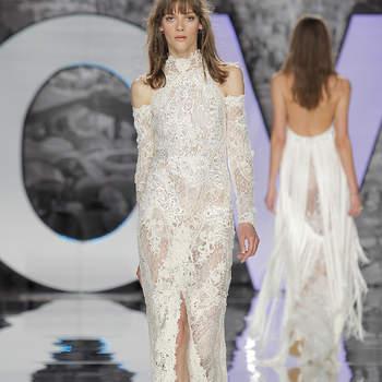 YolanCris. Credits- Barcelona Bridal Fashion Week