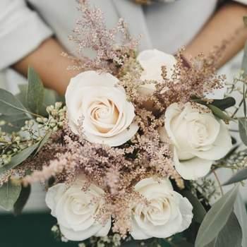 Sí a las flores silvestres para tu boda.