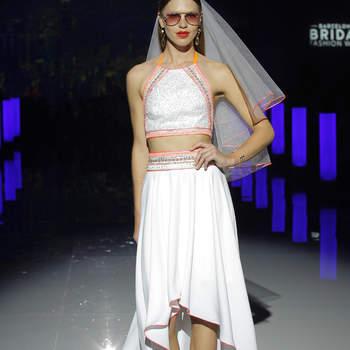 Marylise by Rembo Styling. Credits_ Barcelona Bridal Fashion Week