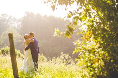 Amor en plena naturaleza: la mágica boda de Paula y Rutger