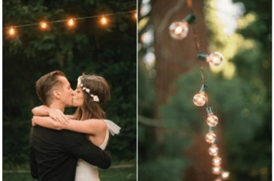 Lanternes, bougies et chandeliers : illuminez votre mariage en 2016