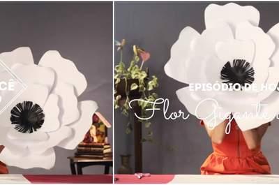 Meu casamento DIY: aprenda a fazer FLORES decorativas maravilhosas!