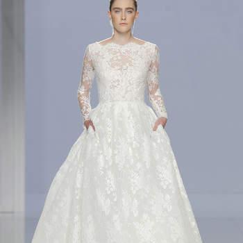 Rosa Clará. Credits- Barcelona Bridal Fashion Week