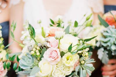 Les 50 bouquets de mariage les plus élégants de 2015: fleur, couleur, style et glamour