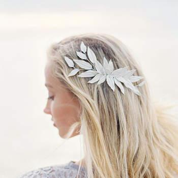 Les plus belles coiffures de mariée cheveux lâchés
