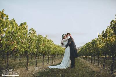 Cuando una wedding blogger da el sí quiero: la boda de Georgina y Willy