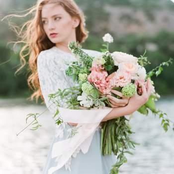 Les plus beaux bouquets de mariée avec des pivoines