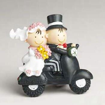 Imán Novios en moto 12 unidades- Compra en The Wedding Shop