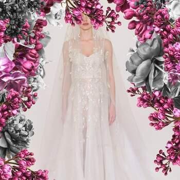 Créditos: Reem Acra Bridal Spring 2021