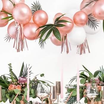 Ballons Rose Gold Métallisé 12cm - The Wedding Shop !