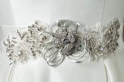 Cinturones de novia de Justin Alexander