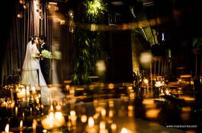 Casamento clássico e contemporâneo de Maira & Orivaldo: cheio de detalhes inovadores, da decoração ao bar!