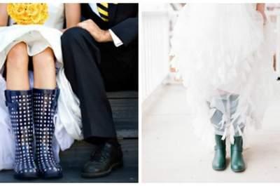 Casamentos à chuva: a doçura!